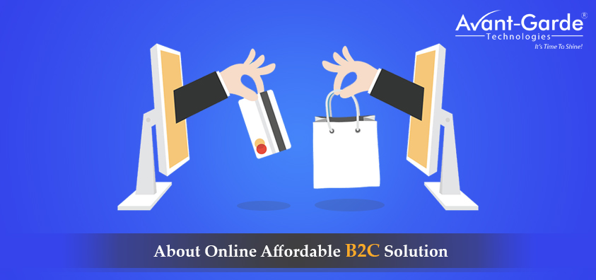 b2c online solutions in india