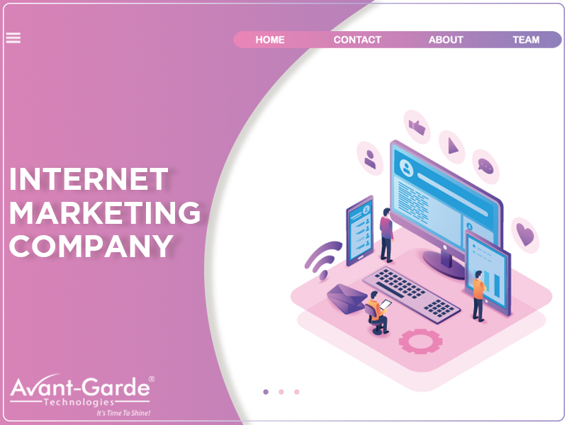 Internet marketing company , website design company