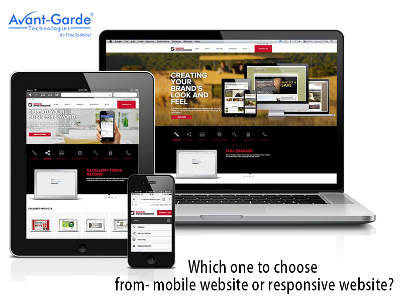 Find Which One is Better : A Mobile Website or A Responsive Website
