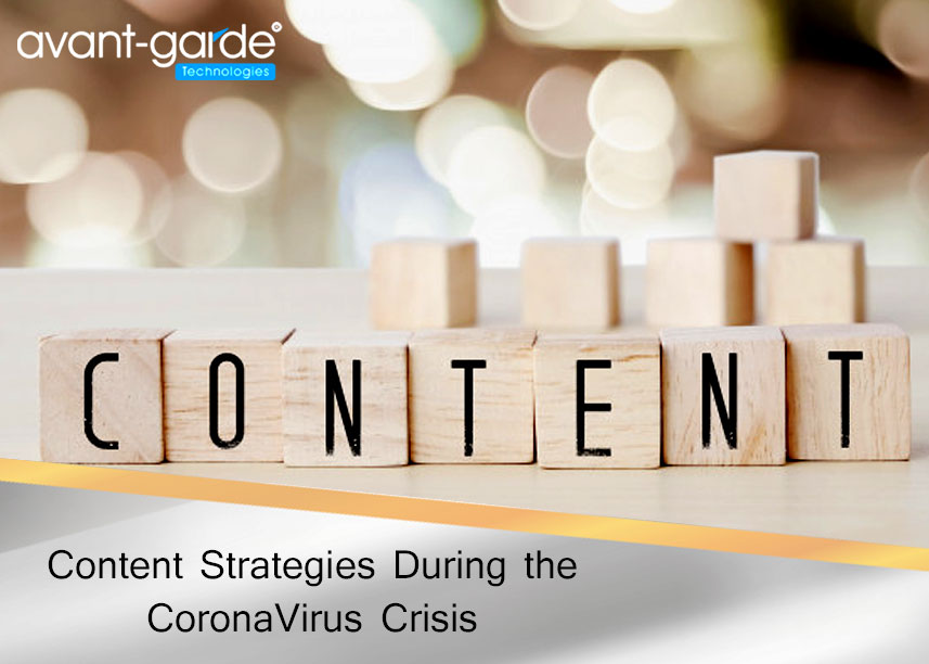 Content Strategies During the CoronaVirus Crisis